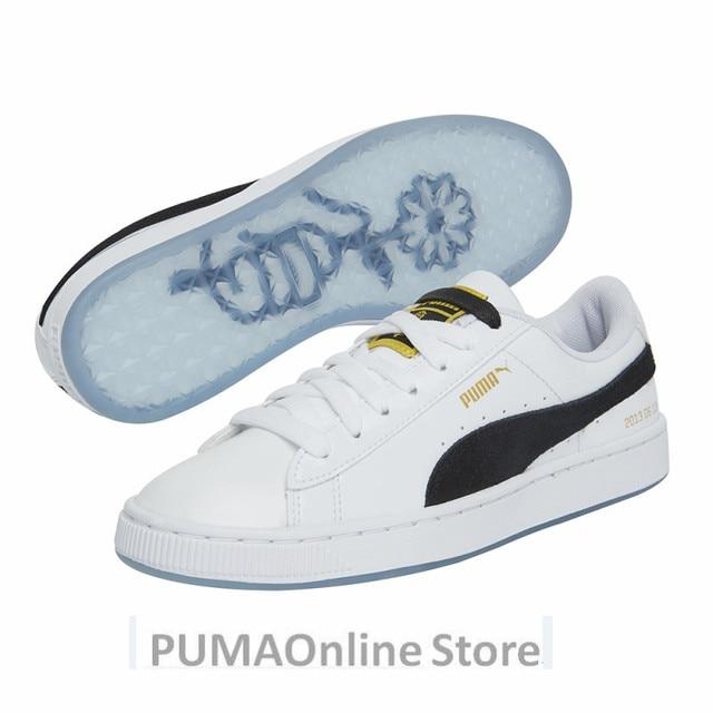 fce65ccb1d72f3 PUMA X BTS Basket Patent Shoes Bangtanboys Collaborat Classic Sneaker  Unisex  Men s  Women s Sneaker Shoes Size35.5-44