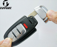 Smart Remote Key Shell Case Fob 3+1 Button for Audi A3 A4 A5 A6 A7 A8 Q5 S4 S5 S6 4 Buttons