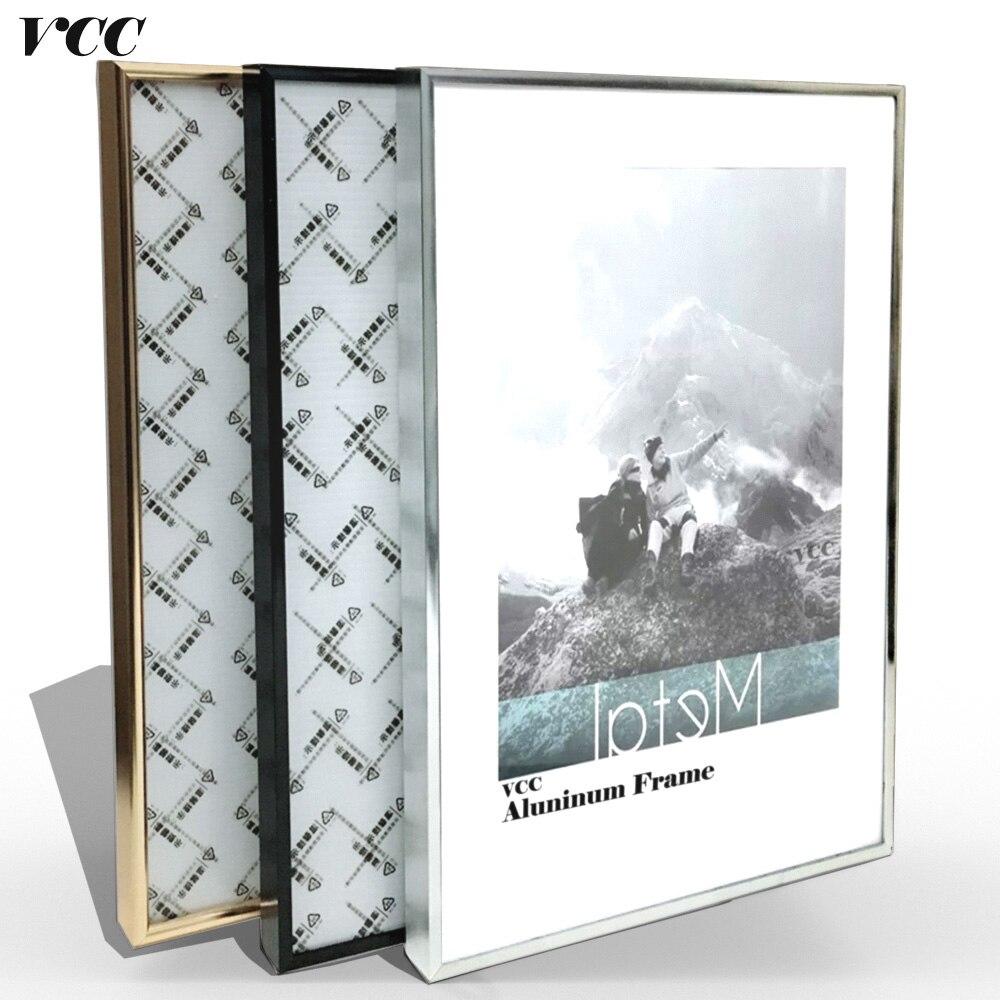 Bild Rahmen Wand Kunst, Klassische Verstärken Aluminium A4 A3 Poster ...