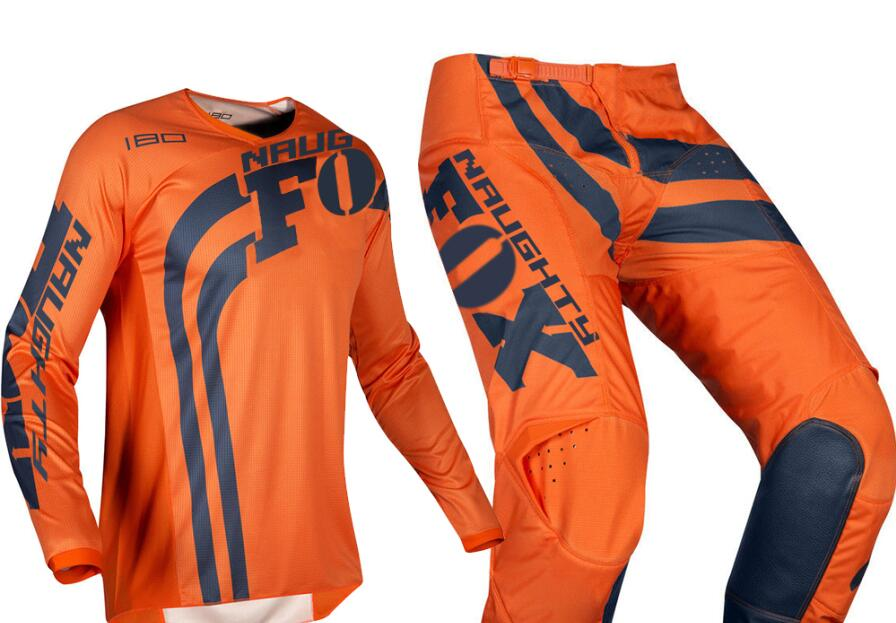 Racing 2019 MX 180 Cota Orange Jersey pantalon adulte Motocross ensemble Sport cyclisme Kit