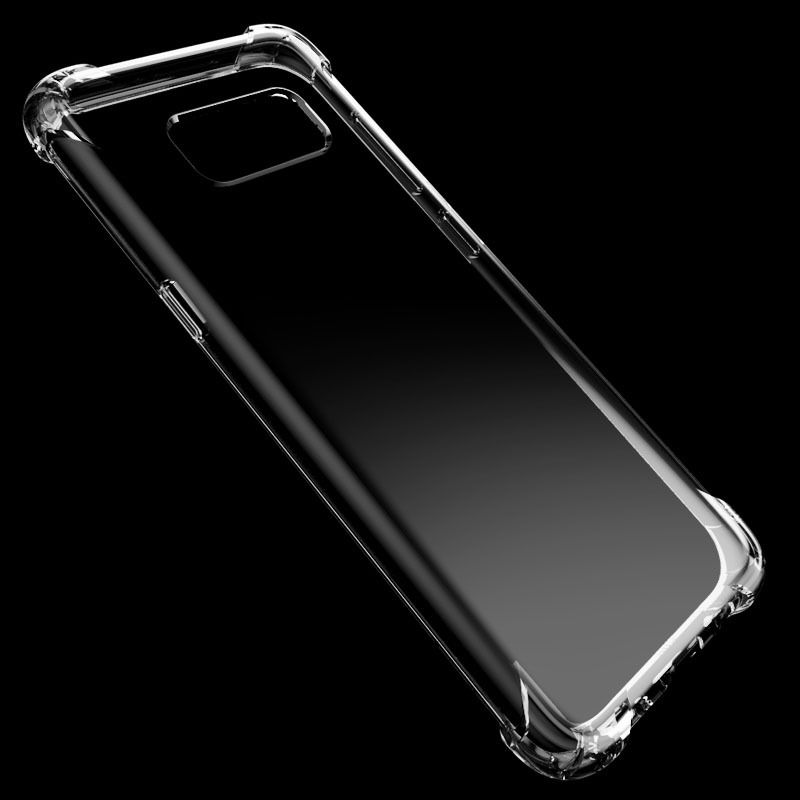Anti-Knock Silicon Case For Samsung A6S A9S S9 S8 S10 E A6 A7 A8 A9 J2 PRO J8 J6 J4 2018 S7 S6 Note9 8 5 4 3 Clear Cover