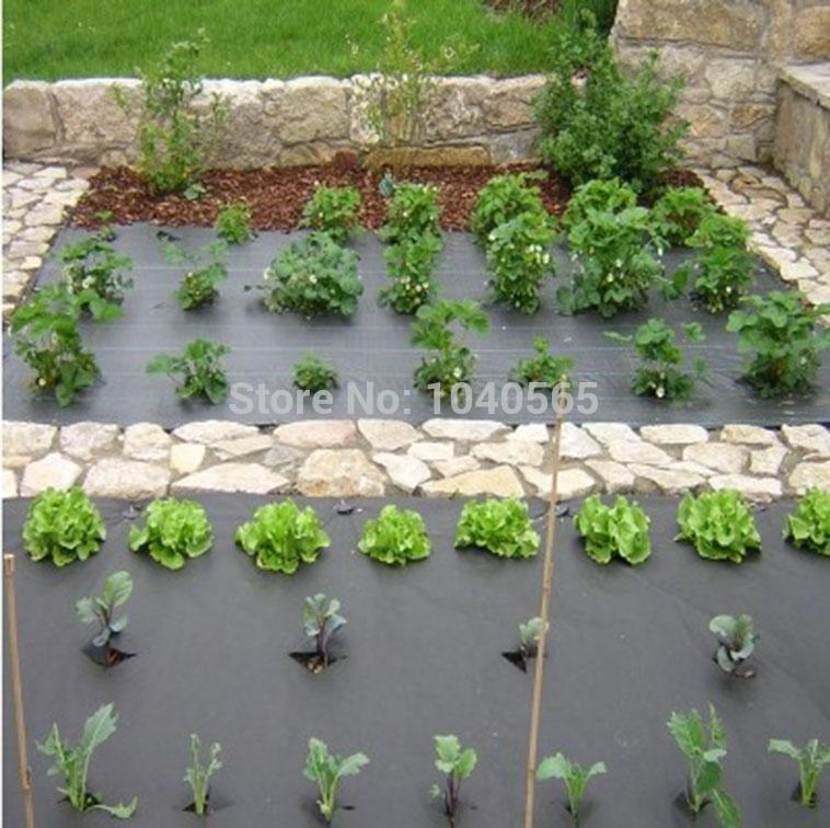 Plant Protection Non Woven Mulch Ground Cover Landscape Fabric