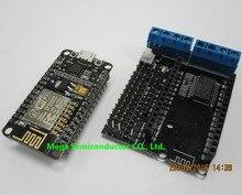 !NodeMCU Development Kit NodeMCU + Motor Shield esp wifi esp8266 esp-12e esp 12e kit diy rc toy remote control Lua IoT smart car