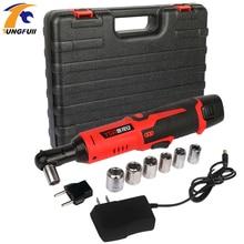 12В аккумуляторный 3/8 дюйма 6000mAh литиевая батарея электрический гайковерт электрический ключ храповика с LED свет инструмент ремонта автомобиля