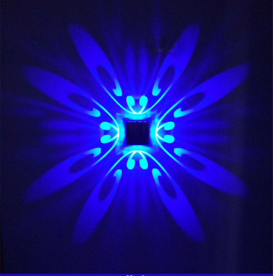 Светодиодный Современный Легкий Алюминий настенный светильник 1 Вт/3 Вт специальные украшения Phenix свет для прохода Спальня коридор крыльцо лампы для мотоциклов, бесплатная доставка
