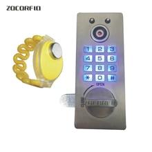 Stainless steel TM card cabinet locks Digital Electronic Password keypad number Cabinet Code locks