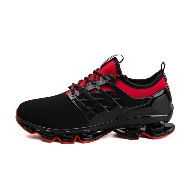 2019 Heren Schoenen Casual Slip Op Ademend Hot Koop Sneakers Mannen Schoenen Lente Blade Schoenen Outdoor Flats Schoenen Big Size mannen