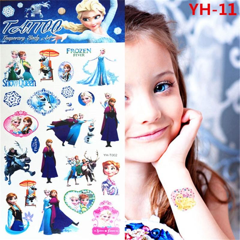 Pinky Pigs Family Child Temporary Tattoo Body Art Flash Tattoo Stickers Waterproof Henna Tatoo Car Styling Wall Sticker 10
