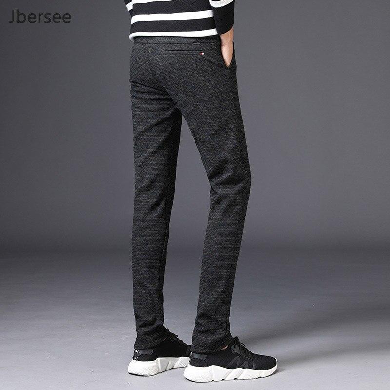Men's Suit Pants Velvet Men Warm Pants For Winter Casual Business Slim Fit Perfume Classical Trousers Dress Pants Pantalon Homme