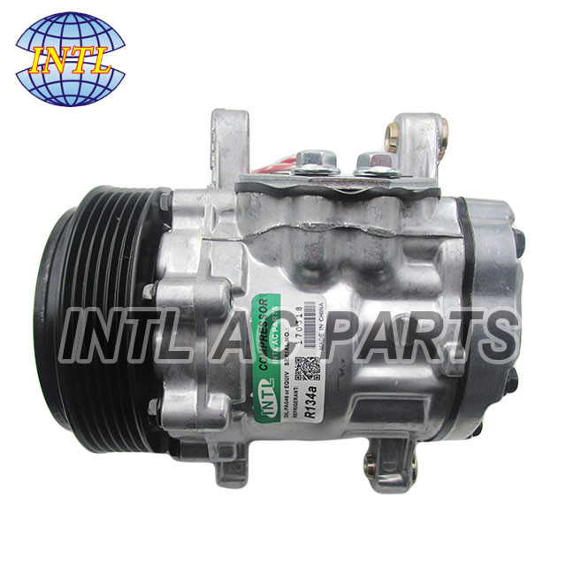 US $82 0 |auto ac compressor for SANDEN 7B10 7B10 SD7B10 7176 7512769-in  Air-conditioning Installation from Automobiles & Motorcycles on
