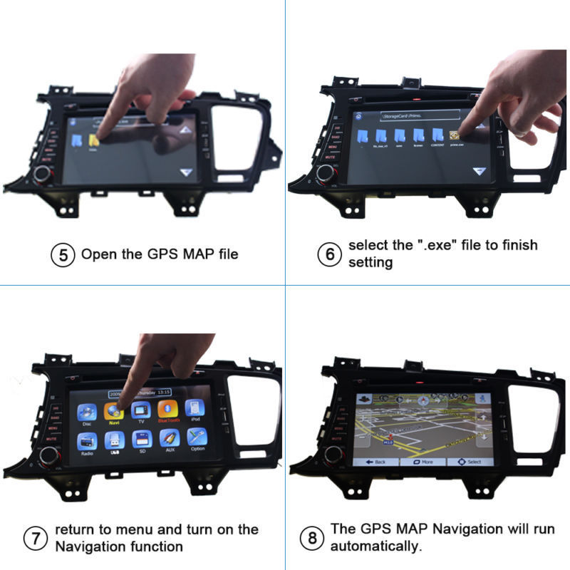 Details about 8G Windows CE WinCE Auto Car Stereo GPS Navigation Software  Maps Micro SD Card
