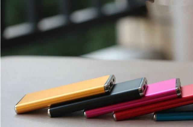 Ultra fino banco de potência portátil com 3000 mah carregador de bateria para iphone 6 S 6 5 5C 5S 4S 4 e Outro Telefone Inteligente