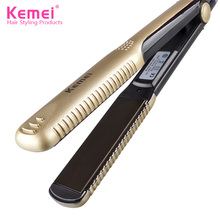 Kemei KM-327 Professional Hair Straightener Iron Hairstyling Portable Ceramic Hair Straightener Iron Styling Tools Free Shipping