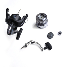 2018 Fishing Spinning Reels CNC handle Shallow Spool 6000 Series 5.2:1 3BB Front  Drag Power 6kg