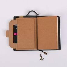 Quality Leather Cover Traveler's Notebook Diaries Magazine Retro Handmade