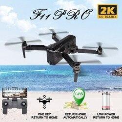 SJRC F11 PRO GPS 5G Wifi 500 m FPV Con 2 K Ampio Angolo di Macchina Fotografica 28 Minuti Tempo di Volo brushless Pieghevole RC Drone Quadcopter RTF