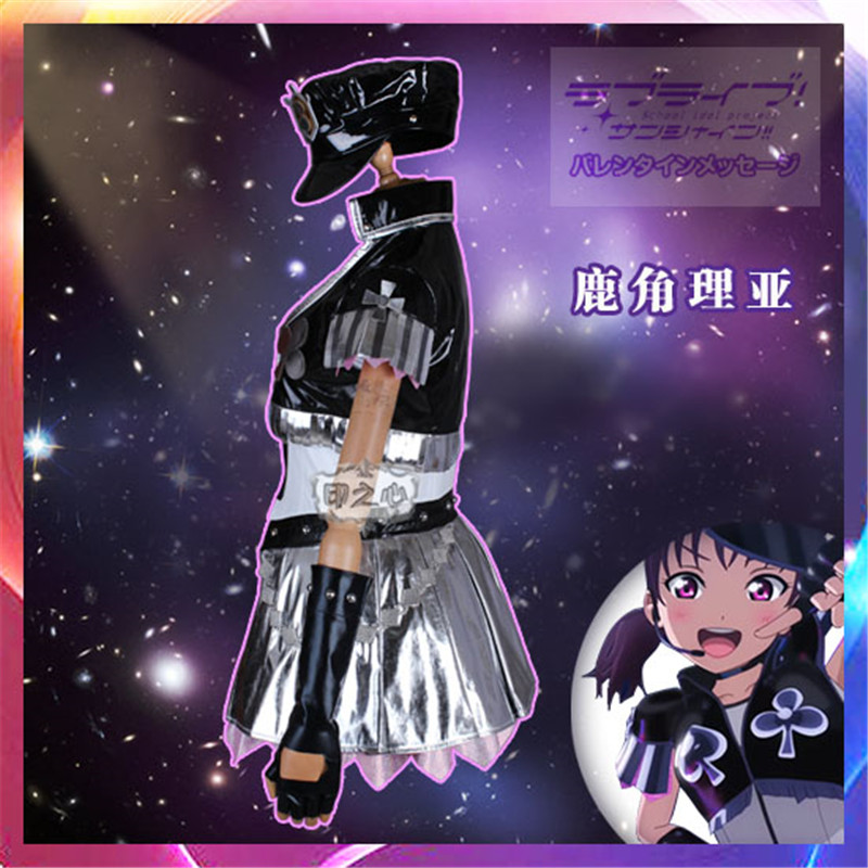 New Lovelive Sunshine Theatre version insert song 3 Believe again Saint Snow Cosplay Costume 2 in Game Costumes from Novelty Special Use