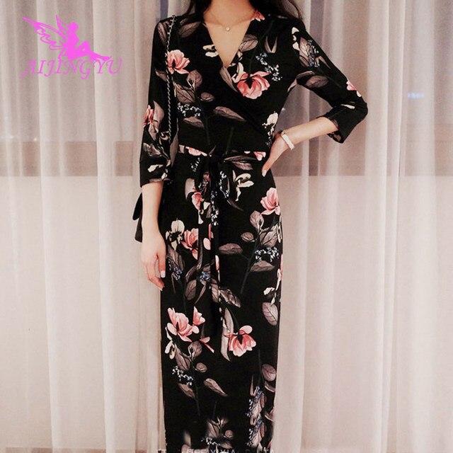 AIJINGYU вечерние платья пикантные вечерние платье 2018 Для женщин Элегантные Формальные особых Нарядное платье модные платья FK356