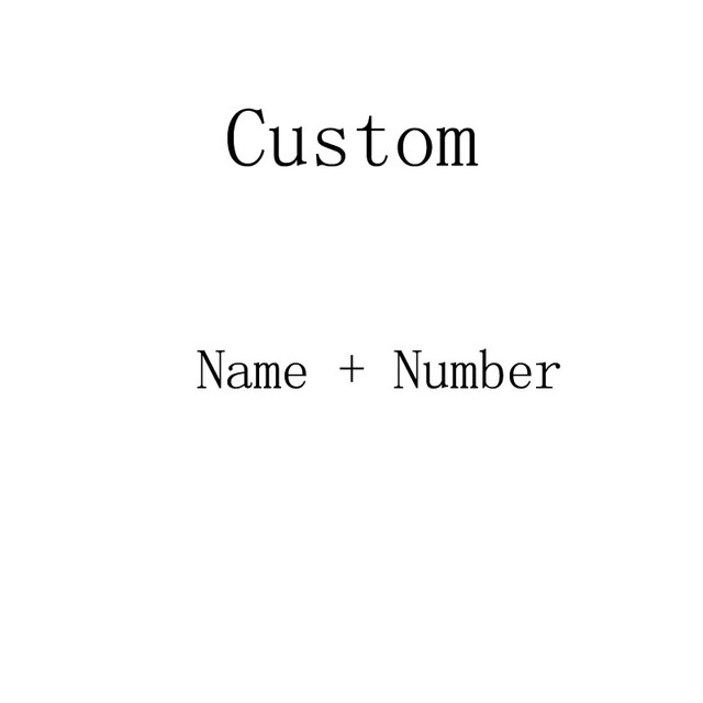 Print Cost  only Custom name + number