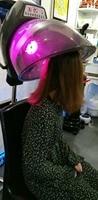 SEYARSI Salon use red infrared hair heater intelligent hair dryer O3 thermal hair treatment machine hair processor