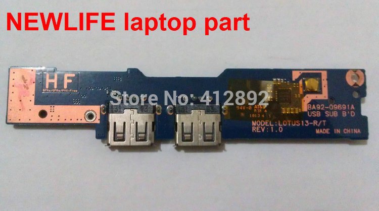 NEW original NP530 USB Card Reader Board BA92-09691A LOTUS13-R/T test good free shipping