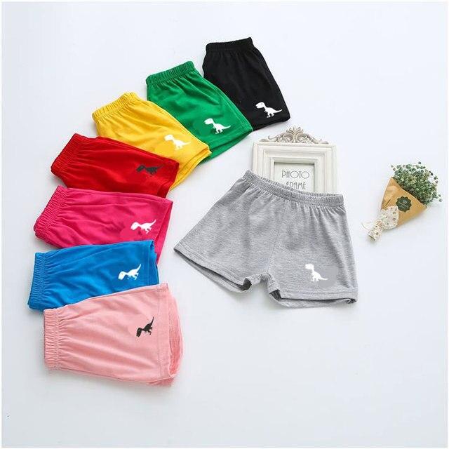 מכנסי כותנה 10 צבעי קיץ בייבי בנות בני מכנסיים קצרים עבור בנות בני מותג ילדים קצרים חוף ילדים בגדי תינוקות