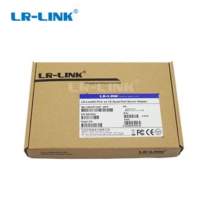 Image 5 - LR LINK 9714HF 4SFP Intel I350 F4 Compatible PCI Express Quad Port Gigabit Ethernet Network Adapter Card Fiber Optical Server