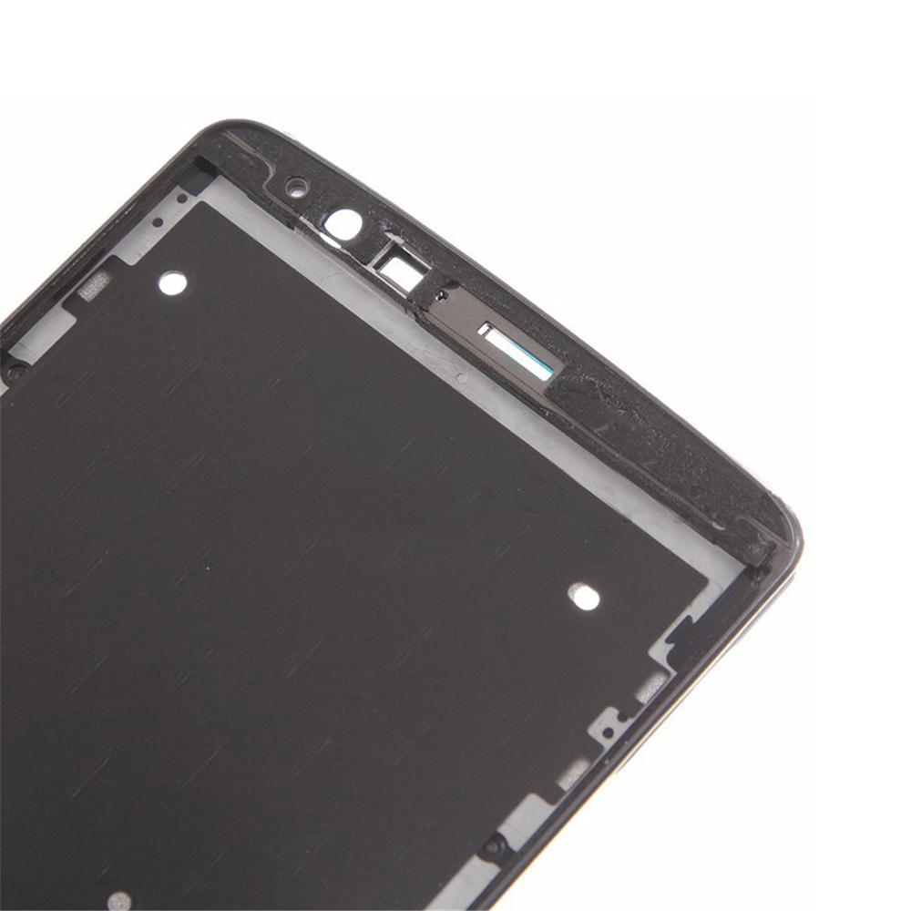Liujiang Original LCD Frame Housing For LG G3 D851 D855 VS985 LS985 D850 Middle Frame Plate Bezel with Glue Replacement parts