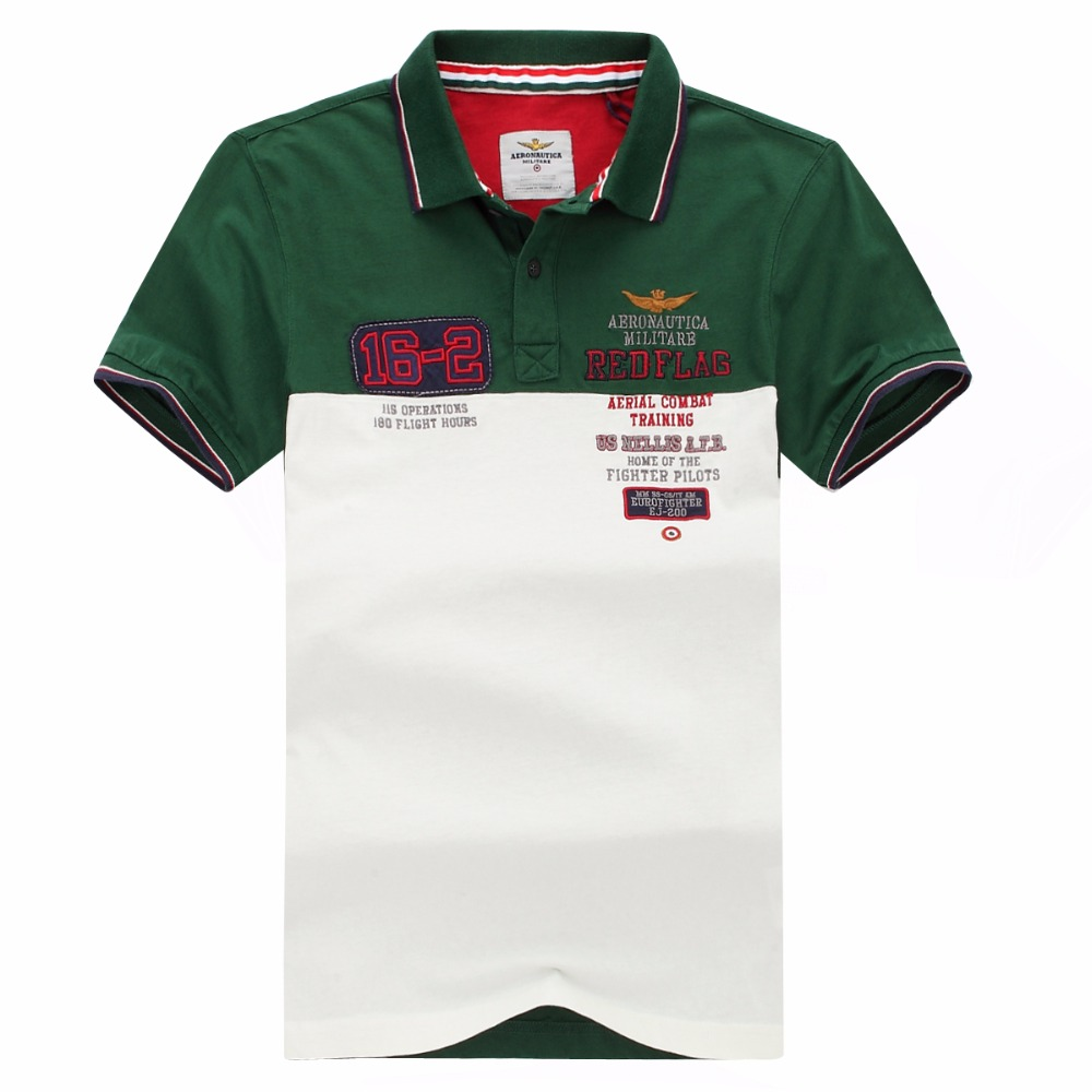 2f25adb98490 Detail Feedback Questions about Aeronautica Militare New Summer Short polo  for Men Original Italy Style Nice Quality Europ Size M L XL XXL Free  Shipping on ...