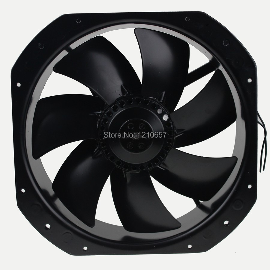 1PCS 280 MM X280 MM X80 MM Metal AC 220V Industrial fan 0 55A 100W