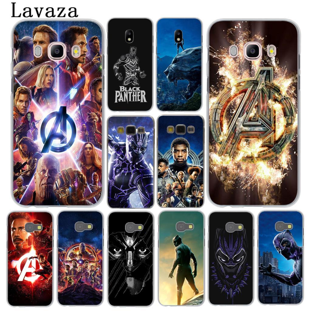 Lavaza The Marvel Avengers Infinity War Phone Case for Samsung Galaxy J3 J1 J2 J5 J7 2015 2016 2017 Ace Pro Prime Black Panther