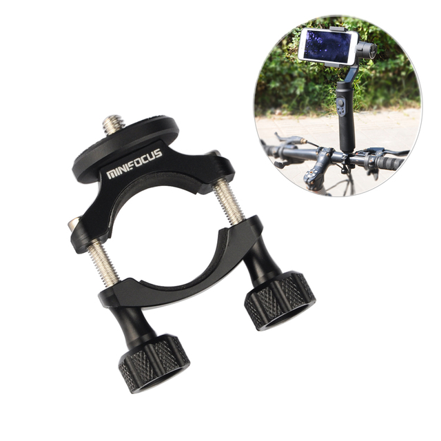 Support de vélo support de fixation de vélo pince pour DJI OSMO Mobile 2 stabilisateur de cardan portable lisse 4 3 Q Vimble accessoires