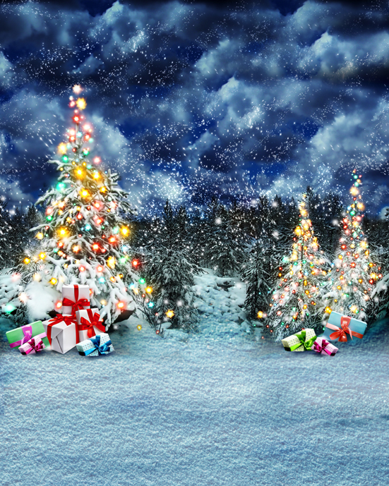 Customize photo studio background snow christmas photography backdrops vinyl digital cloth for children portrait L-827 коюз топаз кольцо т30161733