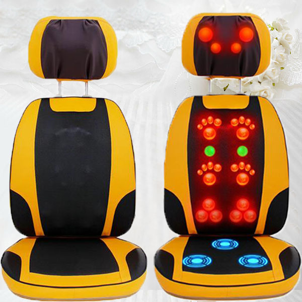 2017 High Performance Fitness Massager, Massage Chair for Neck Full Body Massage for Sale body massager chair 4d air sac massage chair mat for sale