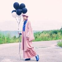 Оригинальный Дизайн осень Для женщин личности пижамы негабаритных животного Вышивка свободные длинные Винтаж велюр Тренчи для женщин