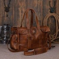 Натуральная кожа Портфели Для мужчин сумки натуральной коровьей Бизнес сумка ручной сумки Высокое качество