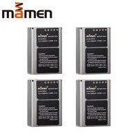 Mamen 4PCS 2200mAh BLN 1 BLN1 PS BLN1 Rechargeable Digital Camera Battery Pack For OLYMPUS E M5 EM5 OMD OM D Camera Li Batteries