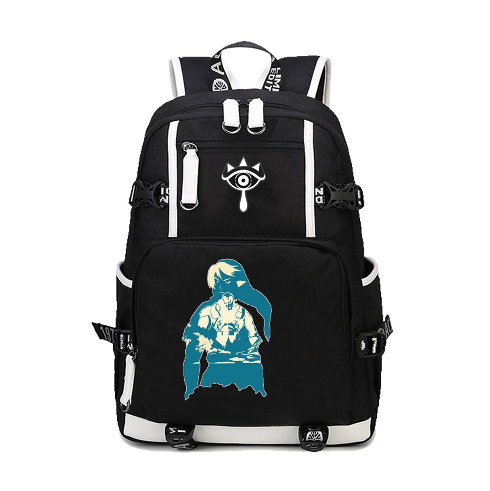 2019 The Legend of Zelda: Breath of the Wild Printing Backpack Large Capacity Canvas School Bags Mochila Laptop Zelda Backpack2019 The Legend of Zelda: Breath of the Wild Printing Backpack Large Capacity Canvas School Bags Mochila Laptop Zelda Backpack