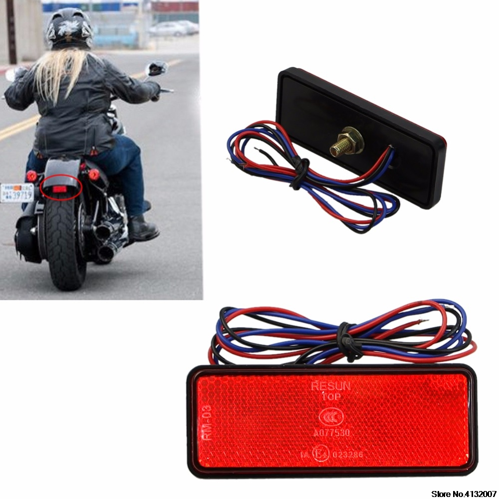 LED Reflector Rear Tail Brake Stop Marker Light CAR Truck Trailer Motorcycle