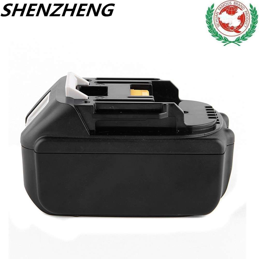 New Replacement Rechargeable Battery For Makita 18V 18 volt 4.0Ah 4000mAh BL1830 BL1840 LXT400 194205-3 V screwdriver drill