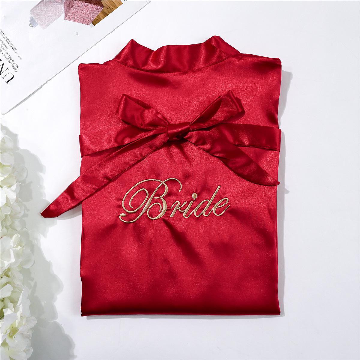 Bride - Dark Red