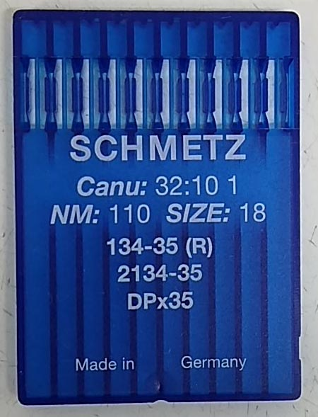 100 pieces SCHMETZ 134 35 R DPX35 many sizes WALKING FOOT INDUSTRIAL SEWING MACHINE NEEDLE