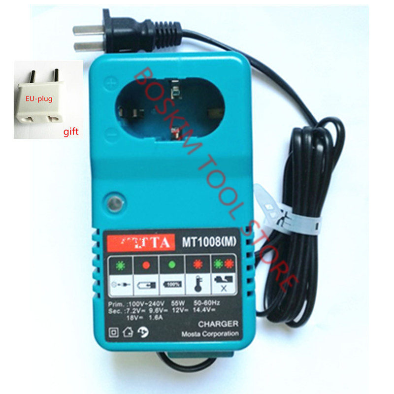 Charger Replacement For <font><b>MAKITA</b></font> 6010D 6261D 6226DWE 6270D 6270DWE 6271D 6271DWE 6280D 6280DWE <font><b>6281D</b></font> 6281DWE 6227DWE 6228DWE image