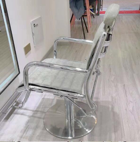 Купить с кэшбэком Hair salon barbershop chair hairdressing chair hairdressing chair hairdressing chair haircutting chair can rise and fall rotate