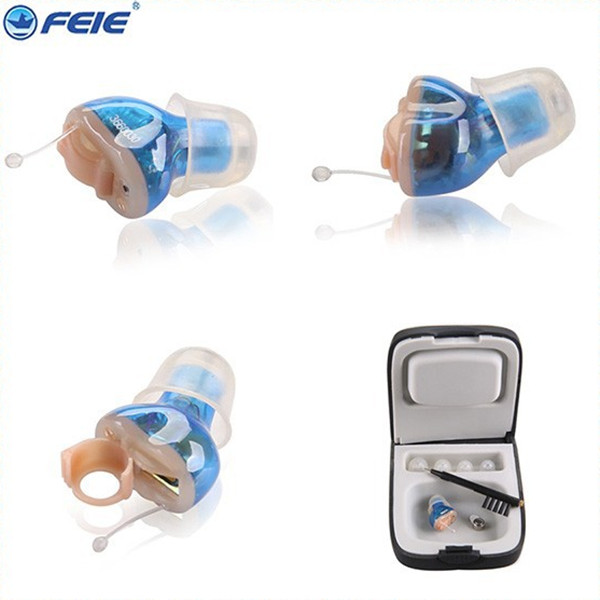 Digital Programmable Invisible CIC Hearing Aid surdo Mini CIC Batteries for hearing aids S-11A Drop Shipping