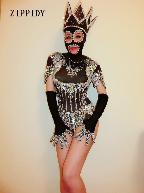 Roupa Sexy Mulheres Traje Cantor Performance de Palco Desgaste Aniversário