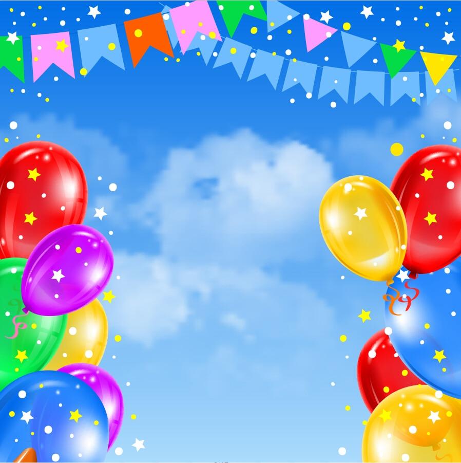 Фон для поздравления с днем рождения детский сад