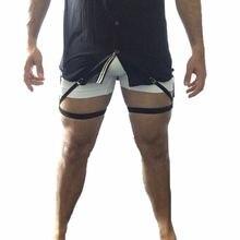 Унисекс подвязки для рубашек эластичные нейлоновая Регулируемая