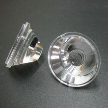 1 Вт 3W 5 Вт светодиодный объектив 20 мм оптическое волокно PMMA плоский прозрачными линзами из поликарбоната 5 10 15 30 45 60 90 120 градусов для детей на возраст 1, 3, 5 ватт высокое Мощность светодиодный чип