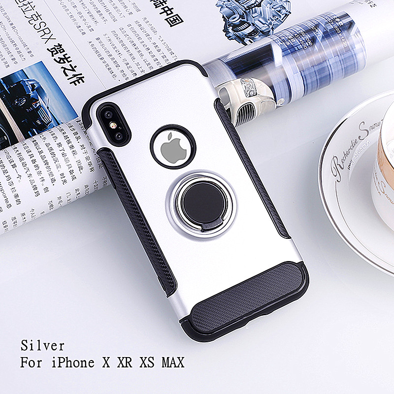 HTB1C4Wfd.GF3KVjSZFmq6zqPXXa7 LSDI for iphone 11 pro max Case for iphone 6 6s 7 8 plus 5 5s se Armor TPU+PC logo hole design Cover for x xr xs max
